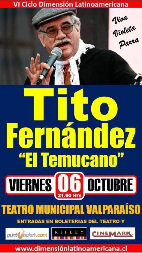 Cartel TITO FERNANDEZ